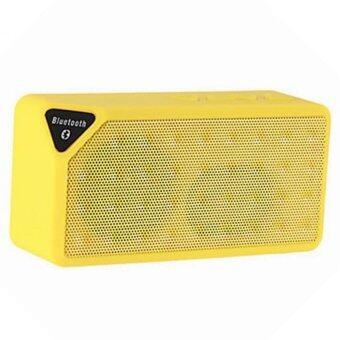 KS ลำโพง Bluetooth speaker รุ่น Mini X-3 (Yellow)