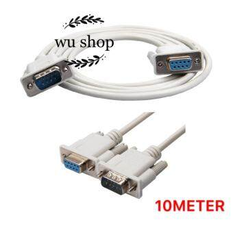 RS232 9-Pin Male To Female DB9 9-Pin PC ConverterCable 10m