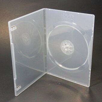 HP DVD Box Clear กล่อง DVD Slim กล่องดีวีดีสลิมใส 1 แผ่น (Pack 25 Box) (White)