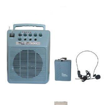 Mastersat เครื่องขยายเสียงแบบพกพา ฟังวิทยุ MP3/ SD card ได้ ความดัง 60W