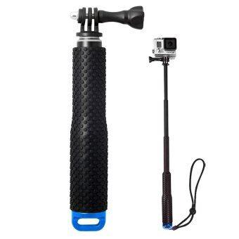 ไม้โกโปร 3 ระดับ แบบกันน้ำ Waterproof handheld monopod for Gopro + SJ4000 (Blue)