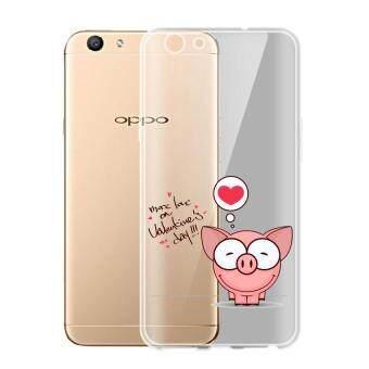 AFTERSHOCK TPU เคส OPPO A39 เคสโทรศัพท์พิมพ์ลาย Valentine Day เนื้อบาง 0.33 mm