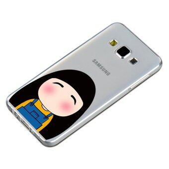 HugCase TPU เคส Samsung Galaxy A7 2015 เคสโทรศัพท์พิมพ์ลาย Good-looking เนื้อบาง 0.3 mm