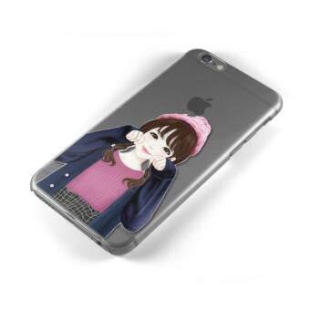 AFTERSHOCK TPU Case iPhone6 /6s (เคสใสพิมพ์ลาย My Gril) / Thin 0.33 mm