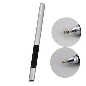 check ราคา 2IN1 Disc Jot Pro Stylus/Ball Pen ปากกาเขียนหน้าจอ พร้อมปากกาลูกลื่น (สีเงิน) รีวิว