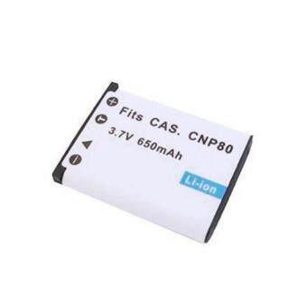 แบตกล้องคาสิโอ รหัสแบต NP-80 / NP-82 / CNP80 แบตเตอรี่กล้อง Casio Exilim Cameras