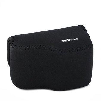 NEOPine Original Portable Neoprene Soft Waterproof Inner Camera Bag For SONY Alpha A6000 NEX-6 16-50mm Camera Case Cover Pouch - Black - Intl