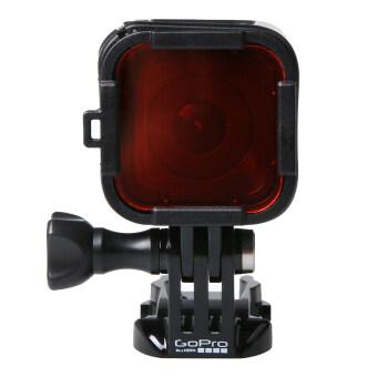 SUNSKY มาตรฐานอุปกรณ์ดำน้ำแบบสคูบาตัวเรือนกรองสำหรับ GoPro HERO4 Session (สีแดง)