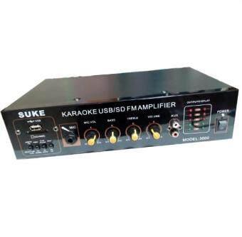 SUKEเครื่องขยายเสียง AC/DC เล่นUSB MP3 SDCARDรุ่น SUKE 3000