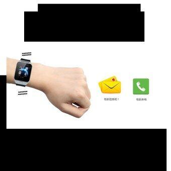 Smart Watch Z นาฬิกาโทรศัพท์ รุ่น A9 Phone Watch (Silver) ฟรี 40000mAh