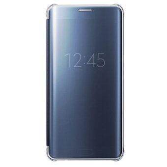 ครอบกระจกใสเพื่อป้องกันกรณีสำหรับ Samsung Galaxy S6 Edge Plus (สีน้ำเงิน)