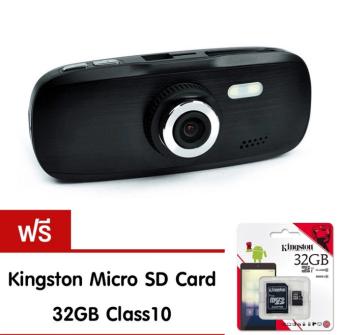 Alitech G1W กล้องติดรถยนต์ รุ่น NT96650 Full HD 1080 (สีดำ) ฟรี Memory Card 32 GB Class10 (price:499-)