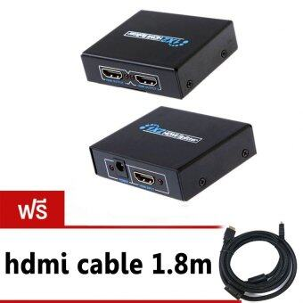 HDMI splitter เข้า1ออก2จอ FULL HD 3D เวอร์ชั่น1.4