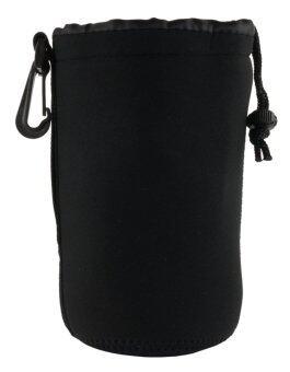 Martin กระเป๋าใส่เลนส์ ถุงใส่เลนส์ Lens Pouch กันน้ำ กันกระเแทก ไซส์ L - Black