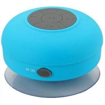 DT ลำโพงบลูทูธกันน้ำ Waterproof Bluetooth Speaker BTS-06 (สีฟ้า)