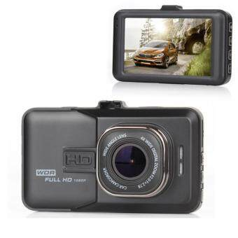 Person FHD กล้องติดรถยนต์ WDR และ Parking Monitor บอดี้โลหะ จอใหญ่ 3.0นิ้ว รุ่น T626 - Black