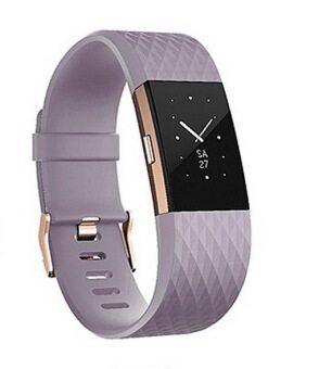 Fitbit Rose Gold Lavender สายรัดข้อมือสีม่วง ไซด์ Small- รับประกันศูนย์ 1 ปี
