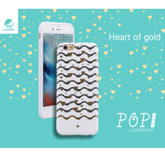 i-smile No. i6P-i001 Pop Series เคส for iPhone 6plus (Heart Gold)