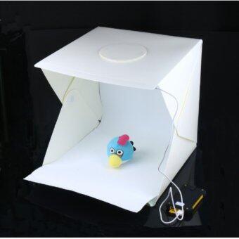 LightBox สตูดิโอถ่ายภาพแบบพกพา ขนาด22.6x23x24ซม. สตูดิโอถ่ายภาพ สตูดิโอแบบพกพา Portable Photo Studio Booth 22.6x23x24cm
