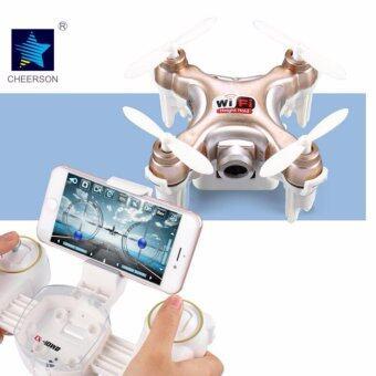 โดรน จิ๋วมีกล้อง Cheerson CX10WD-TX drone ถ่ายรูปและวีดีโอได้ ควบคุมผ่านมือถือได้และมีรึโมทให้