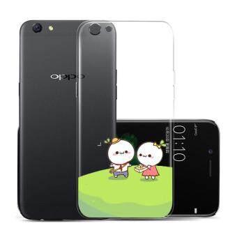 Hug Case TPU เคส Oppo R9s Plus เคสโทรศัพท์พิมพ์ลาย Sweet เนื้อบาง 0.3 mm