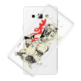 AFTERSHOCK TPU Case Samsung Galaxy J7 2016 (เคสใสพิมพ์ลาย Ninja) / Thin 0.33 mm