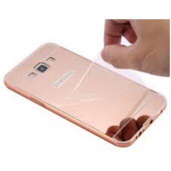 Case เคส Samsung J2 เคสกระจก New Bumper Mirror Case Gold Rose Gold Pink Gold 18k Aluminium Miror ขอบอลูมิเนียม ใหม่ สีทองชมพู สีชมพู