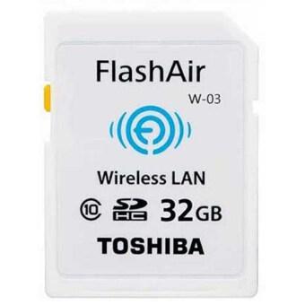 นำเสนอ Toshiba Wireless SD Memory Card - Flash Air W-03 32GB รีวิวสินค้า