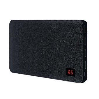 Remax Proda power bank 30000mAh 4 Port รุ่น Notebook Powerbox (สีดำ)