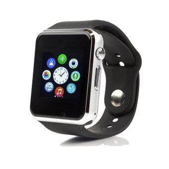 smile C นาฬิกาโทรศัพท์ Smart Watch รุ่น A1 Phone Watch (Black)