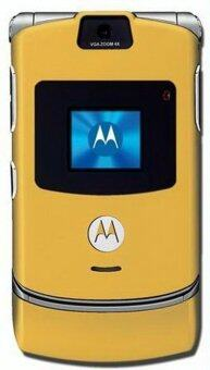 Harga (FACTORY REFURBISHED) Motorola V3 RAZR Gold