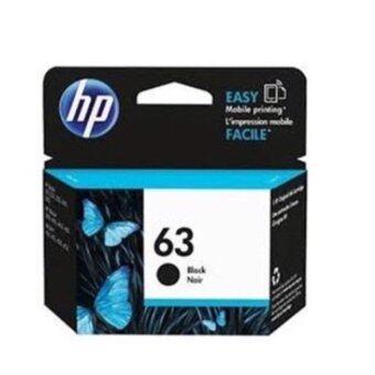 HPหมึกพิมพ์Inkjetรุ่นhp 63bk Black