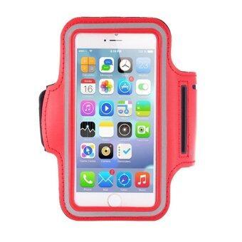 Center สายรัดแขนมือถือSports Armband Case Holder for iPhone 4/ 4S/ 5/ 5S/ 5C (สีแดง)