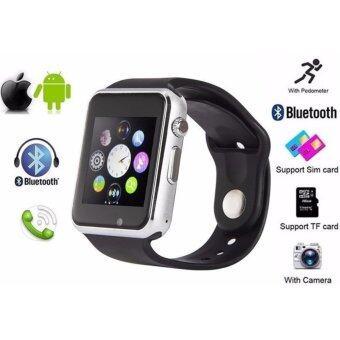 Person นาฬิกาโทรศัพท์ Bluetooth Smart Watch รุ่น A8 Phone watch-Black