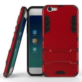 โทรศัพท์ลูกผสม BYT TPU+PC Neo เคสสำหรับ Oppo A39 (สีแดง)