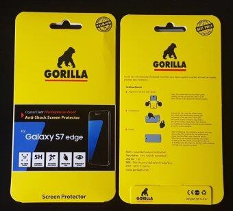 Gorilla ฟิล์มกันรอยหน้าจอ,กอริลล่า,เต็มจอ,s7 edge