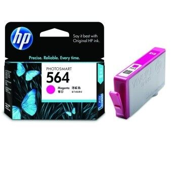 HP 564xl (CB324WA) Magenta Ink Cartridge – สีม่วงแดง