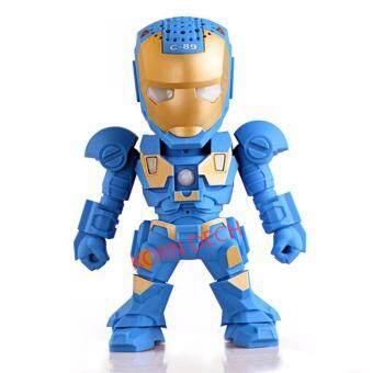 KPT ลำโพงบลูทูธ Mini Music Box C-89 รูปทรง Iron Man มาใหม่ล่าสุด