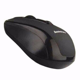 แนะนำ Lenovo Wireless Mouse รุ่น 3100 (สีดำ) ข้อมูล