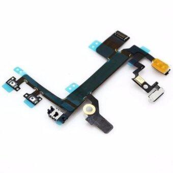 แพรPowe /ปุ่มเปิดปิดiPhone 5S +ปุ่มลดเสียงเพิ่มเสียง+ปุ่มสั่น+แฟลชกล้องหลัง