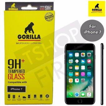 Gorilla Tempered Glass กอริล่า ฟิล์มกระจกนิรภัยใสไม่เต็มหน้าจอ For iPhone 7