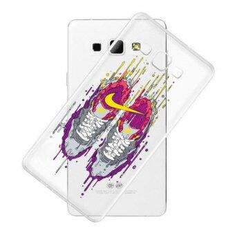 AFTERSHOCK TPU Case Samsung Galaxy J7 2016 (เคสใสพิมพ์ลาย Sneaker) / Thin 0.33 mm