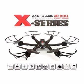 โดรน หกใบพัด 6 blade drone black spider wifi ดูภาพสดผ่านมือถือมีไวไฟพร้อมถ่ายรูปและวีดีโอได้