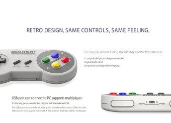 จอยเกมส์ 8bitdo SFC30 PRO Bluetooth Controller Gamepad สำหรับ IOS / Android / Windows / Mac