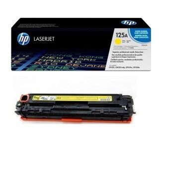 HP 125A Yellow Original LaserJet Toner Cartridge CB542A ?( สีเหลือง)