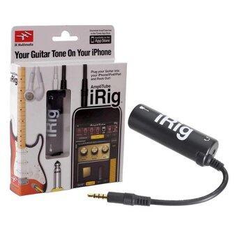 IRIG ชุดอุปกรณ์ต่อพ่วงกีตาร์ไฟฟ้า และเบส เปลี่ยน IPHONE, IPAD, IPOD TOUCH ให้กลายเป็นแอมป์หรือเอฟเฟค