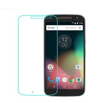 Harga 9H+ Premium Tempered Glass Screen Protector For Moto G4 Motorola Moto G 4th Generation - Intl