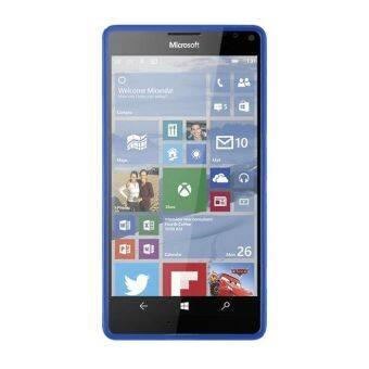 S สายบาง ๆ เนื้อเจล TPU เคสโทรศัพท์ยางสำหรับ Microsoft Lumia 950 XL (สีน้ำเงิน) (ต่างประเทศ)