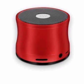 Lilry shop EWA A109 Bluetooth Speakerลำโพงบลูทูธสีแดง