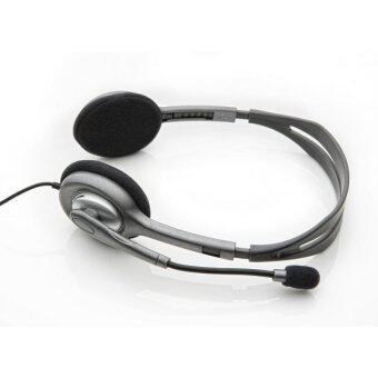 Logitech H110 หูฟังแบบครอบหู สีเทา